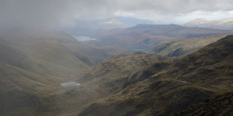 Hiking Scafell Pike